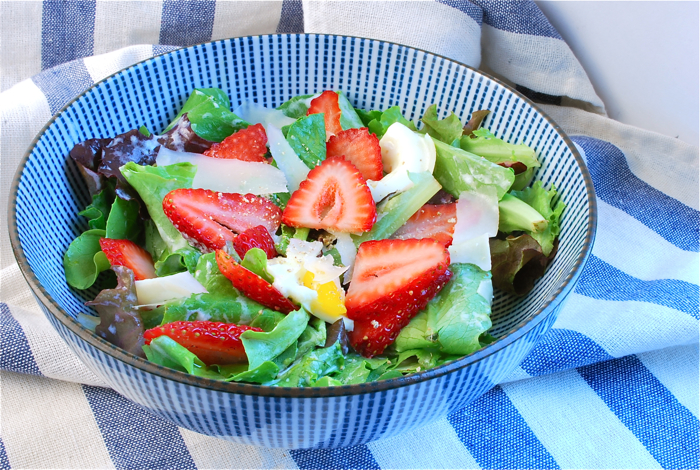 strawberry buttermilk salad