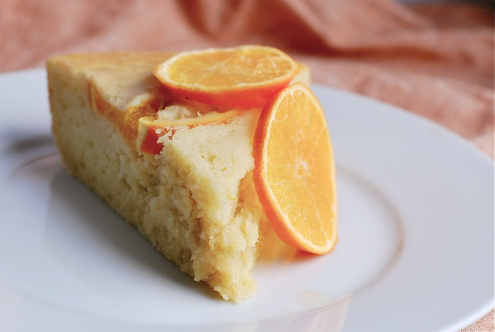 clementine olive oil cake