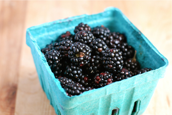 Now in season: blackberries, via brooklynsupper.net; © Brooklyn Supper, all rights reserved