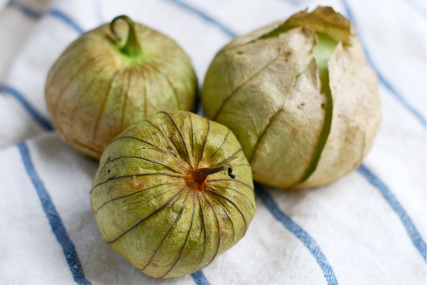 parting with: tomatillos, via brooklynsupper.net; © Brooklyn Supper 2012, all rights reserved