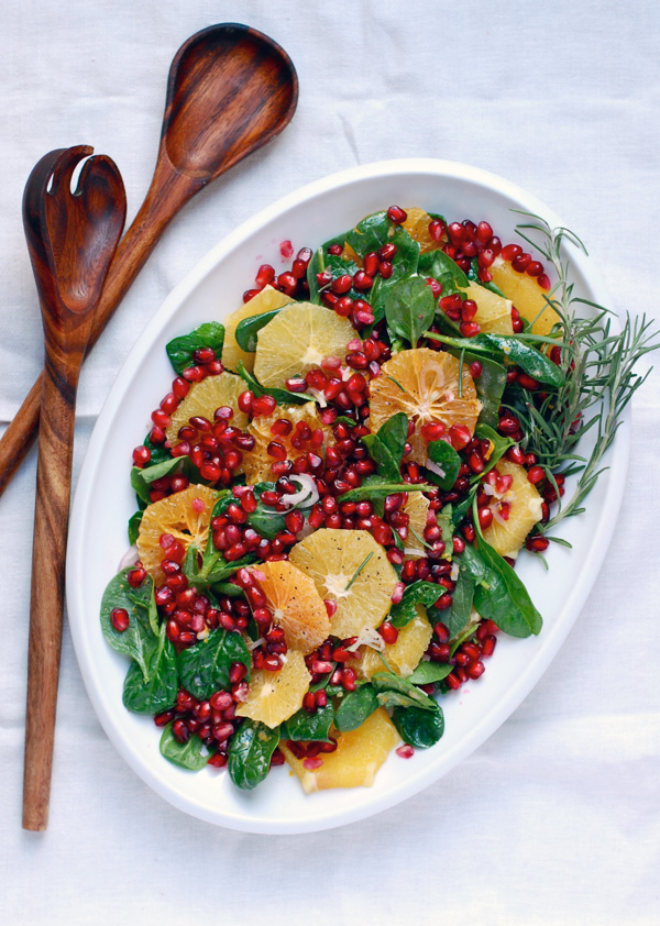 orange and pomegranate salad // brooklyn supper