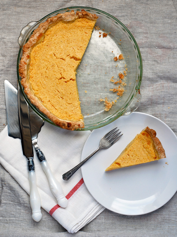pumpkin buttermilk pie // brooklyn supper