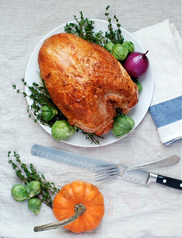roast turkey breast recipe | brooklyn supper