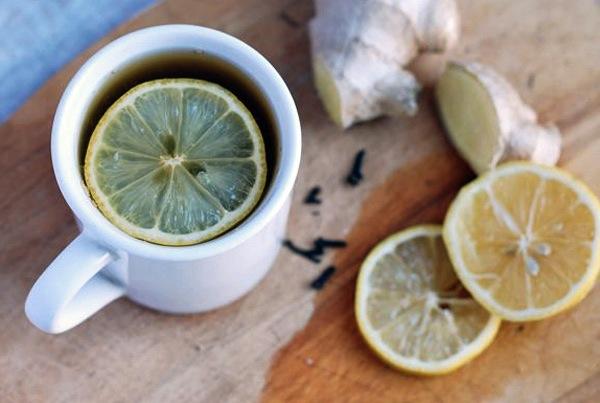ginger lemon tea // brooklyn supper
