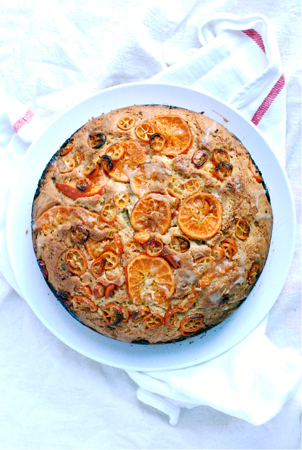 kumquat clementine coffee cake // brooklyn supper