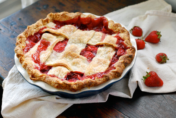 strawberry pie // brooklyn supper