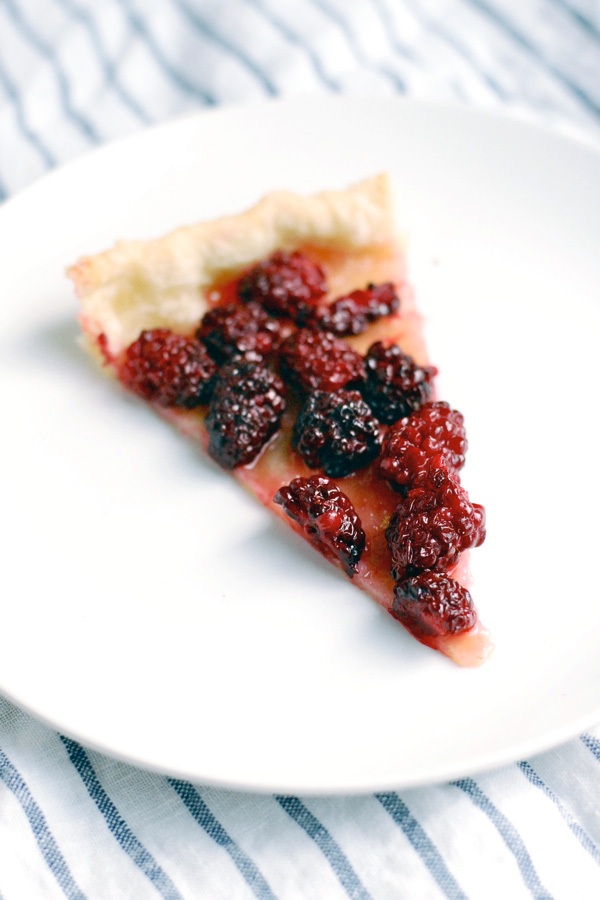 simplest blackberry tart // brooklyn supper
