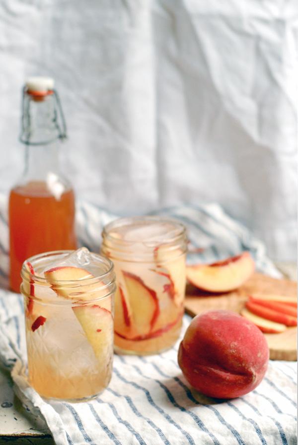 peach shrub // brooklyn supper