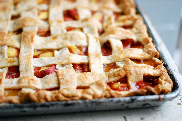 peach slab pie // brooklyn supper