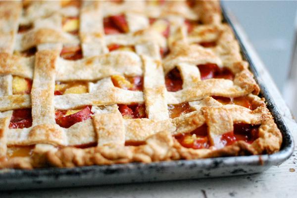 peach slab pie // brooklyn supper