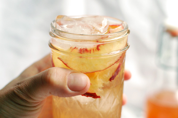 peach shrub // brooklyn supper