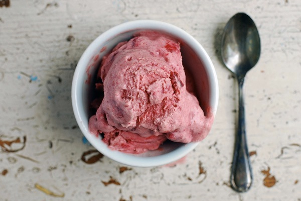 satsuma plum ice cream // brooklyn supper
