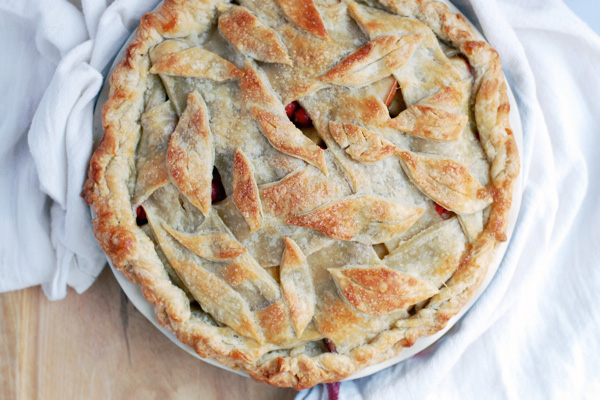 cranberry apple pie // brooklyn supper