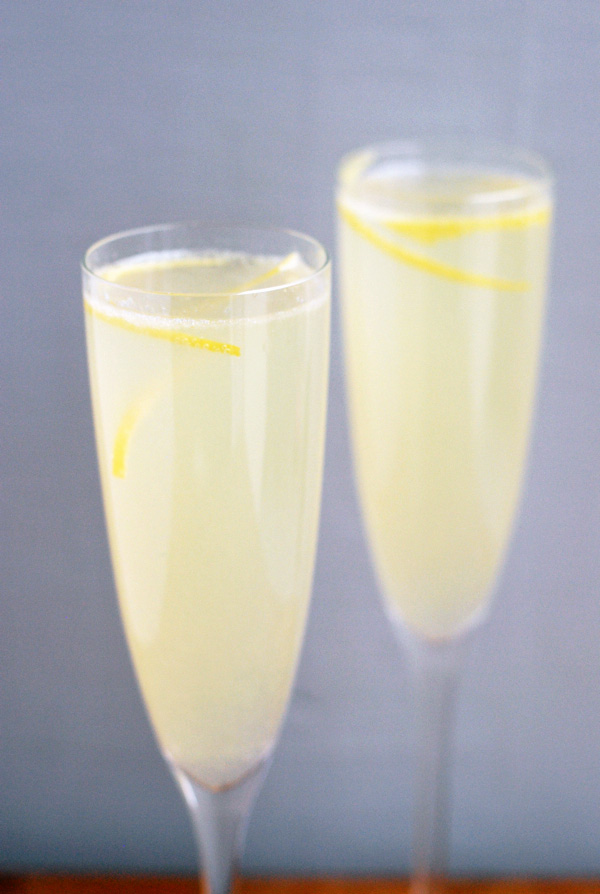 juniper-infused french 75 // brooklyn supper