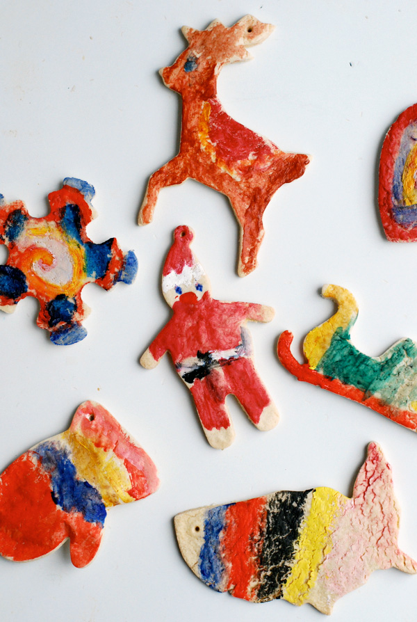 salt dough christmas ornaments // brooklyn supper