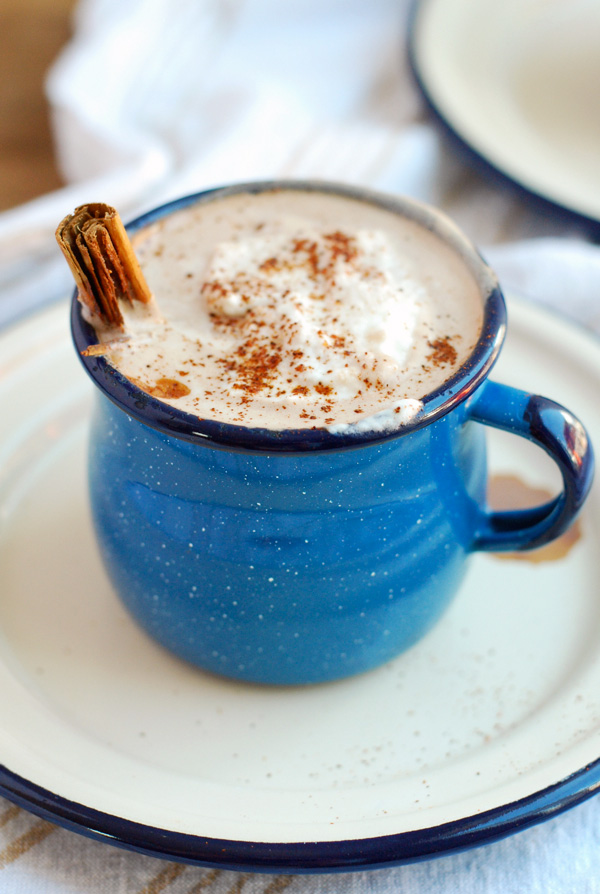 spicy maple cinnamon hot chocolate // brooklyn supper
