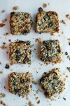chewy black mission fig granola bars + healthier kids // brooklyn supper
