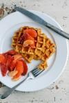 sweet potato waffles // brooklyn supper