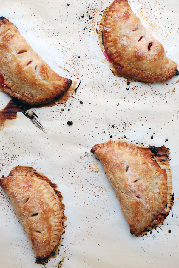 sour cherry hand pies // brooklyn supper