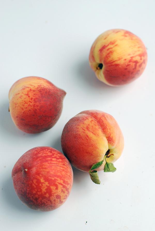 peach sorbet // brooklyn supper
