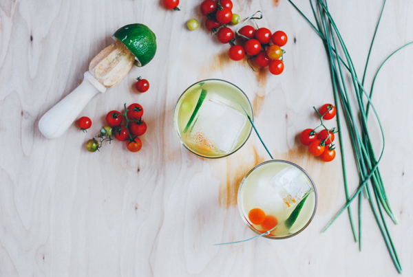 tomato water cocktails // brooklyn supper