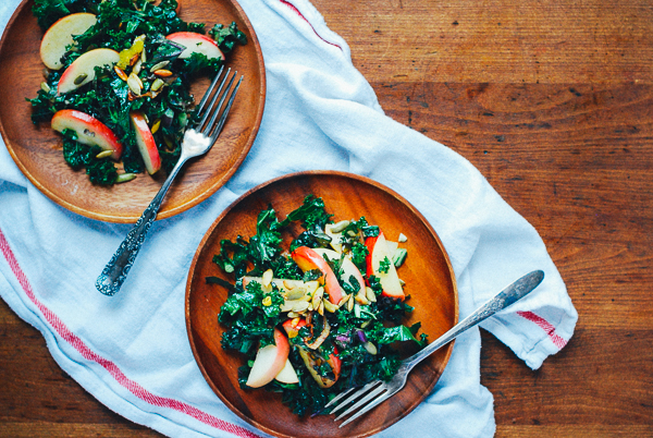 kale salad with sauteed apples13