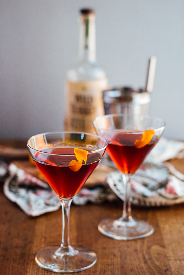 boulevardier + our thanksgiving menu // brooklyn supper