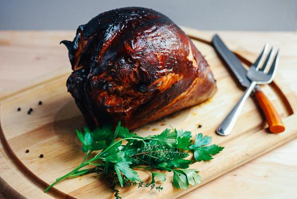 smoked turkey breast // brooklyn supper