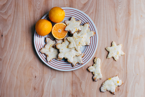 buttered rum cookies // brooklyn supper