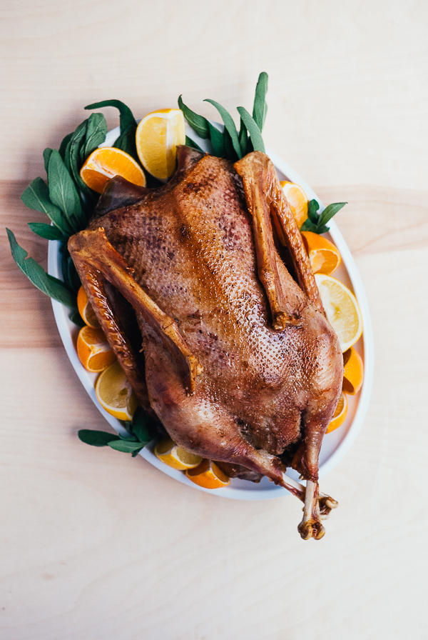 roast christmas goose // brooklyn supper