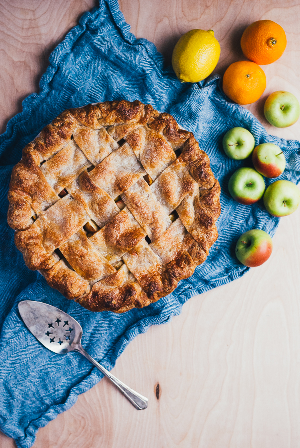 lattice-top lady apple pie // brooklyn supper