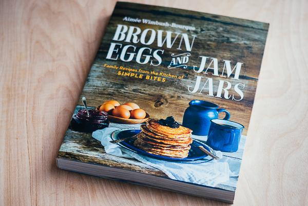 brown eggs and jam jars //
