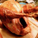 turkey, gravy, sides, and food snobbery