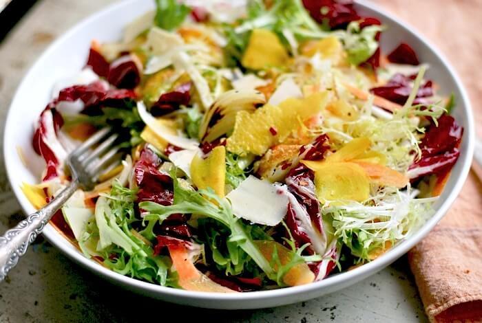 I started writing Brooklyn  Radicchio Salad