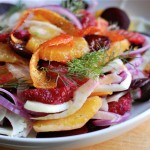fennel, beet, and blood orange salad