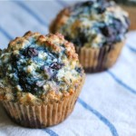 old-fashioned blueberry muffins and the naptime chef cookbook