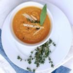 carrot, fennel, & orange soup + a giveaway {sponsored post}