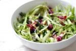 asparagus ribbon salad with dried cherries // brooklyn supper