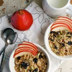 tart cherry & cacao nib granola + raising funds for charity:water