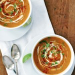 feed a child, nourish a mind + curried sweet potato soup
