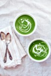 greens and garlic soup // brooklyn supper