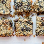 chewy black mission fig granola bars + healthier kids {sponsored post}