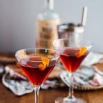 boulevardier cocktails + our thanksgiving menu