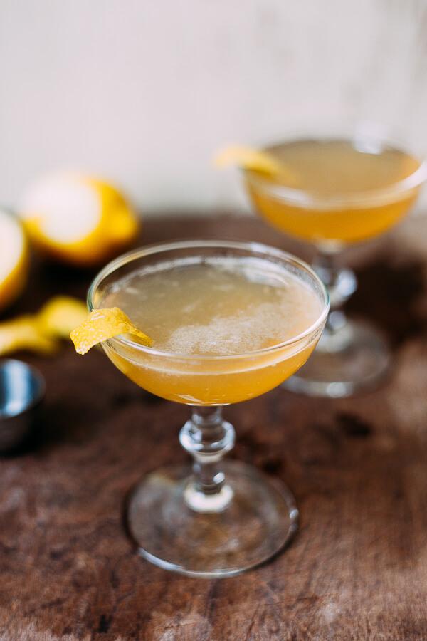 Cocktail Bourbon Side Car
