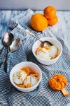 cream cheese ice cream with marmalade // brooklyn supper