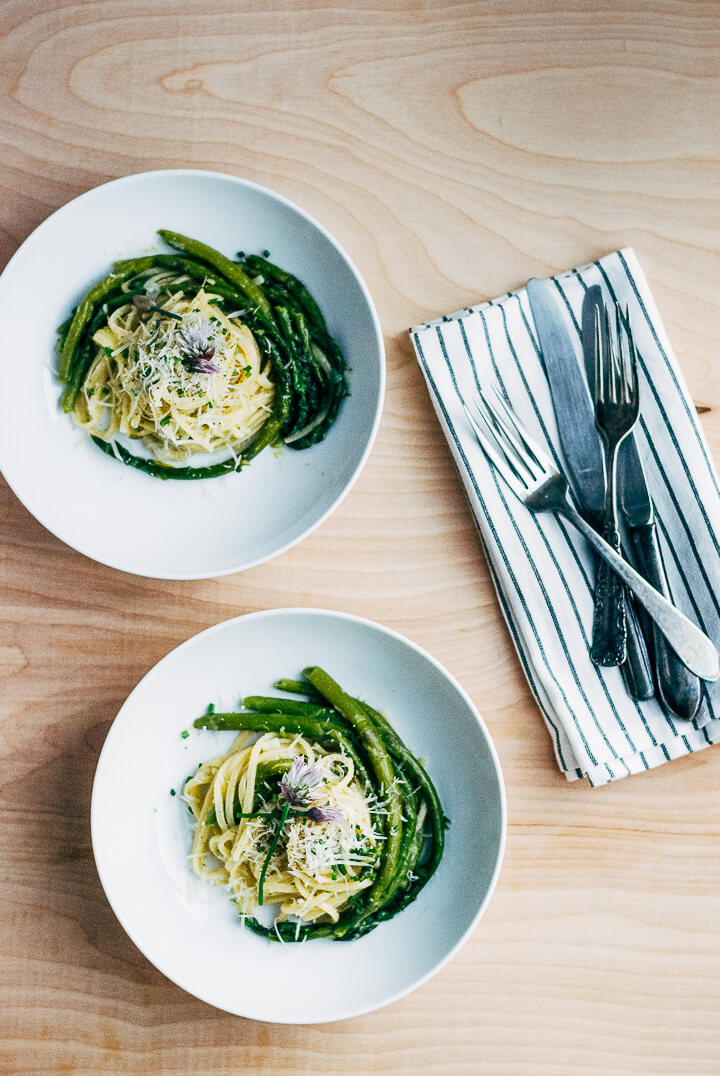 one-pot pasta primavera // brooklyn supper