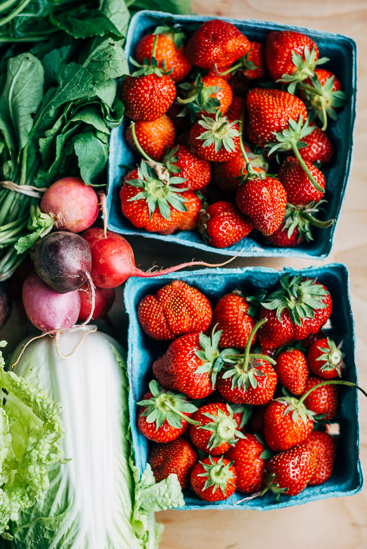 spring produce guide: what to eat right now (late may) // brooklyn supper