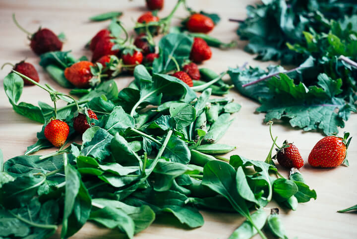 spring produce guide: what to eat right now (end of may) // brooklyn supper