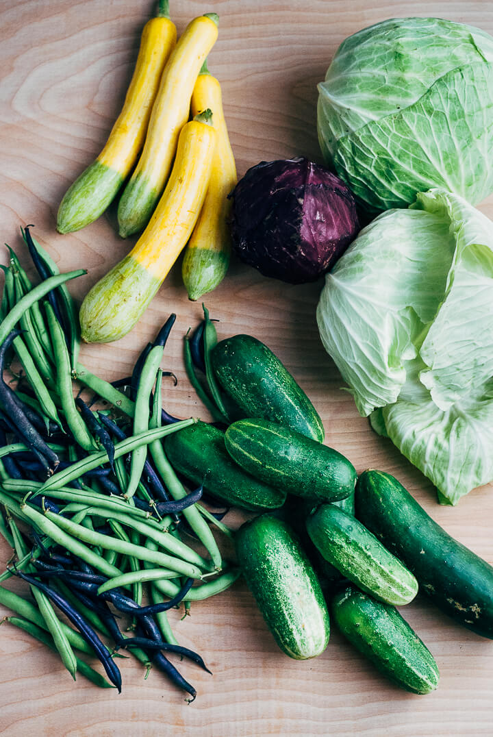 summer produce guide: what to eat right now (late june) // brooklyn supper