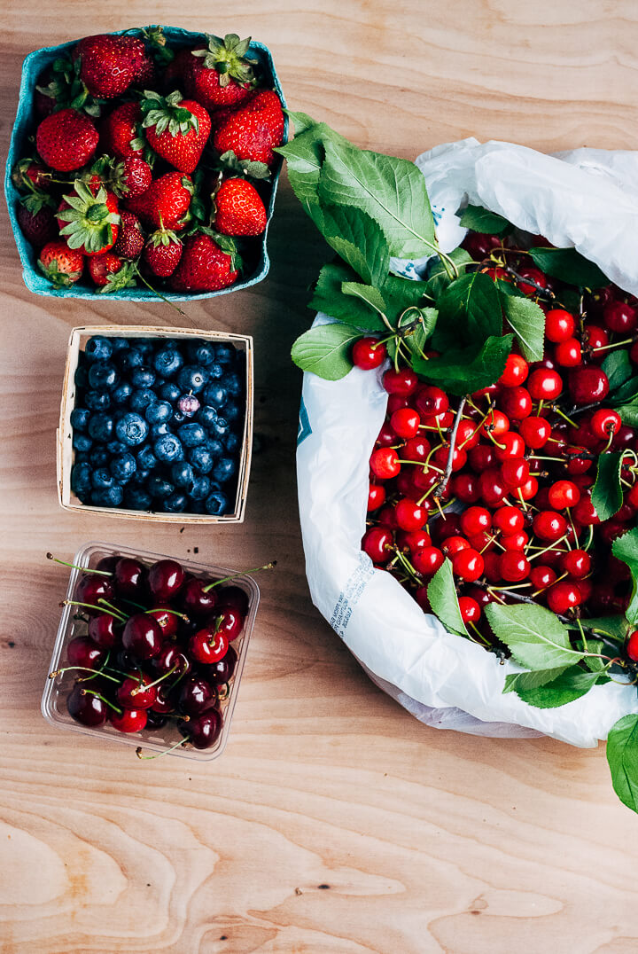 summer produce guide: what to eat right now (beginning of june) // brooklyn supper
